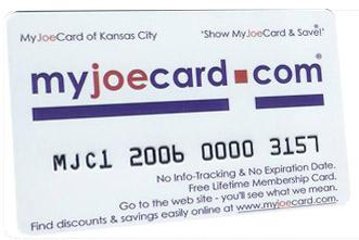 The New MyJoeCard for Denver - Best Consumer Value in the Denver area!