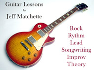 Denver Guitar Lessons by Instructor Jeff Matchette (Littleton, CO & Highlands Ranch, CO)